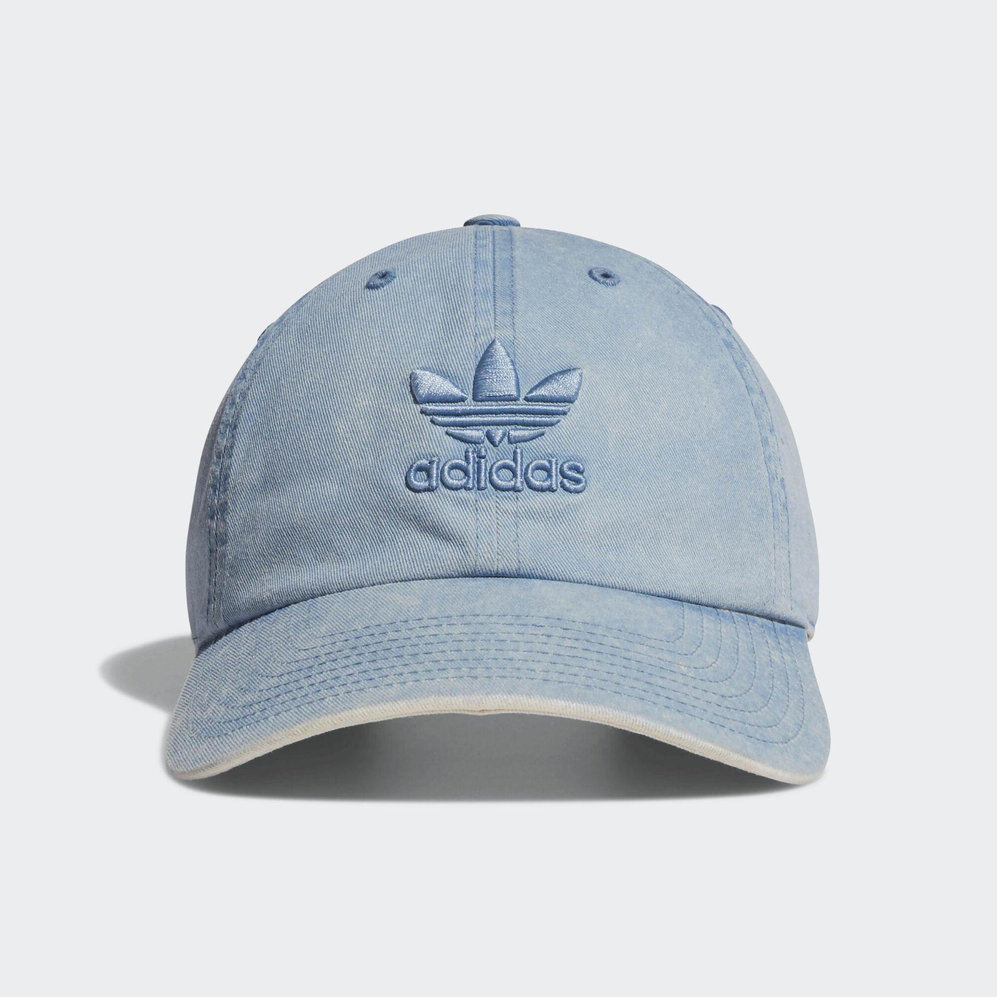 13127cfcc1d54 adidas - Relaxed Overdye Hat Medium Blue CK5034